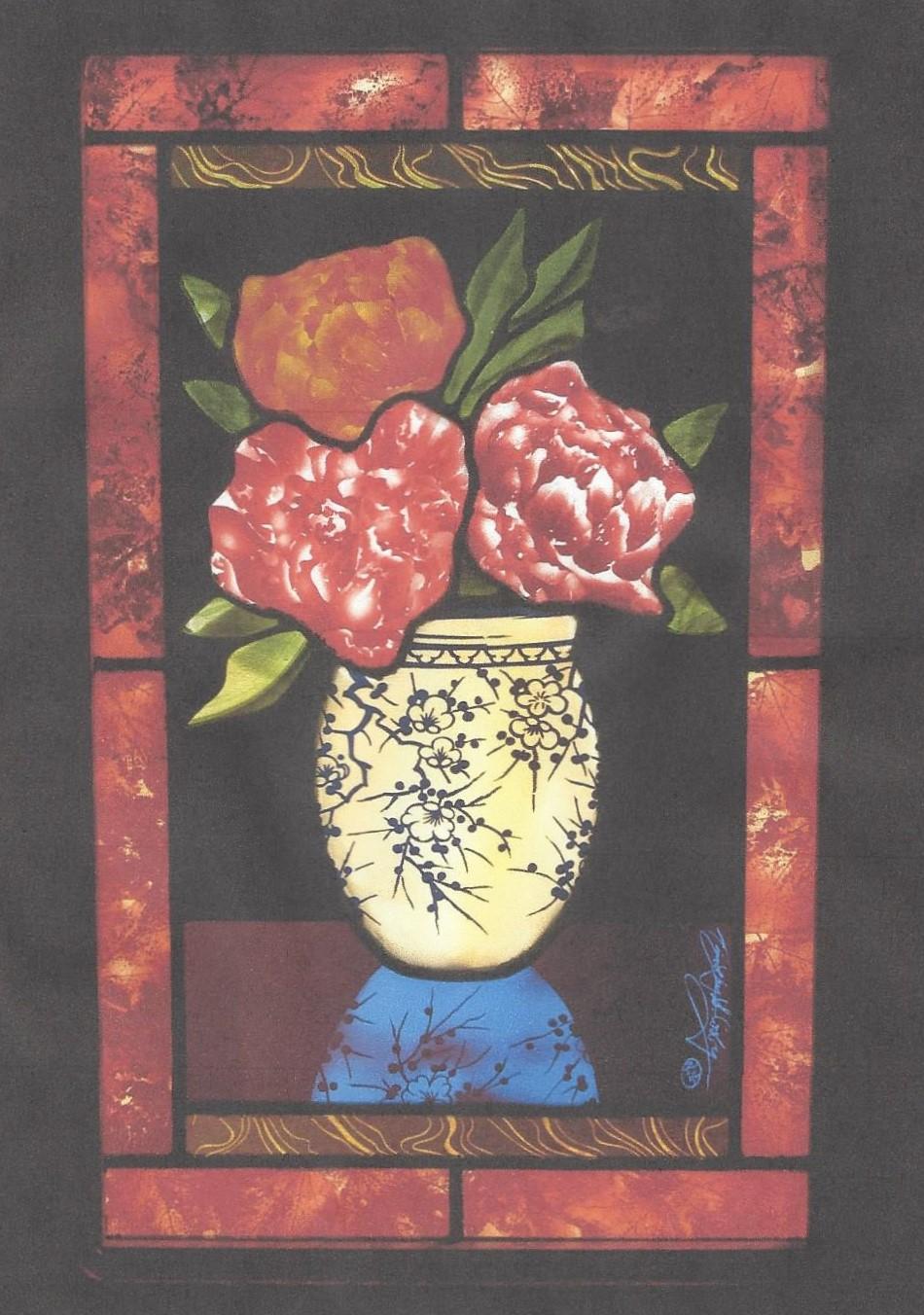 Vase of Peonies 2005